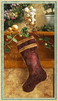 Новогодние носки :)