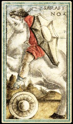 Сола-Буска, Рыцари - Sarafino