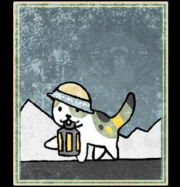 Neko Atsume Tarot - Отшельник (The Hermit)