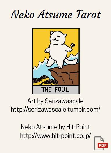Neko Atsume Tarot – Скачать PDF